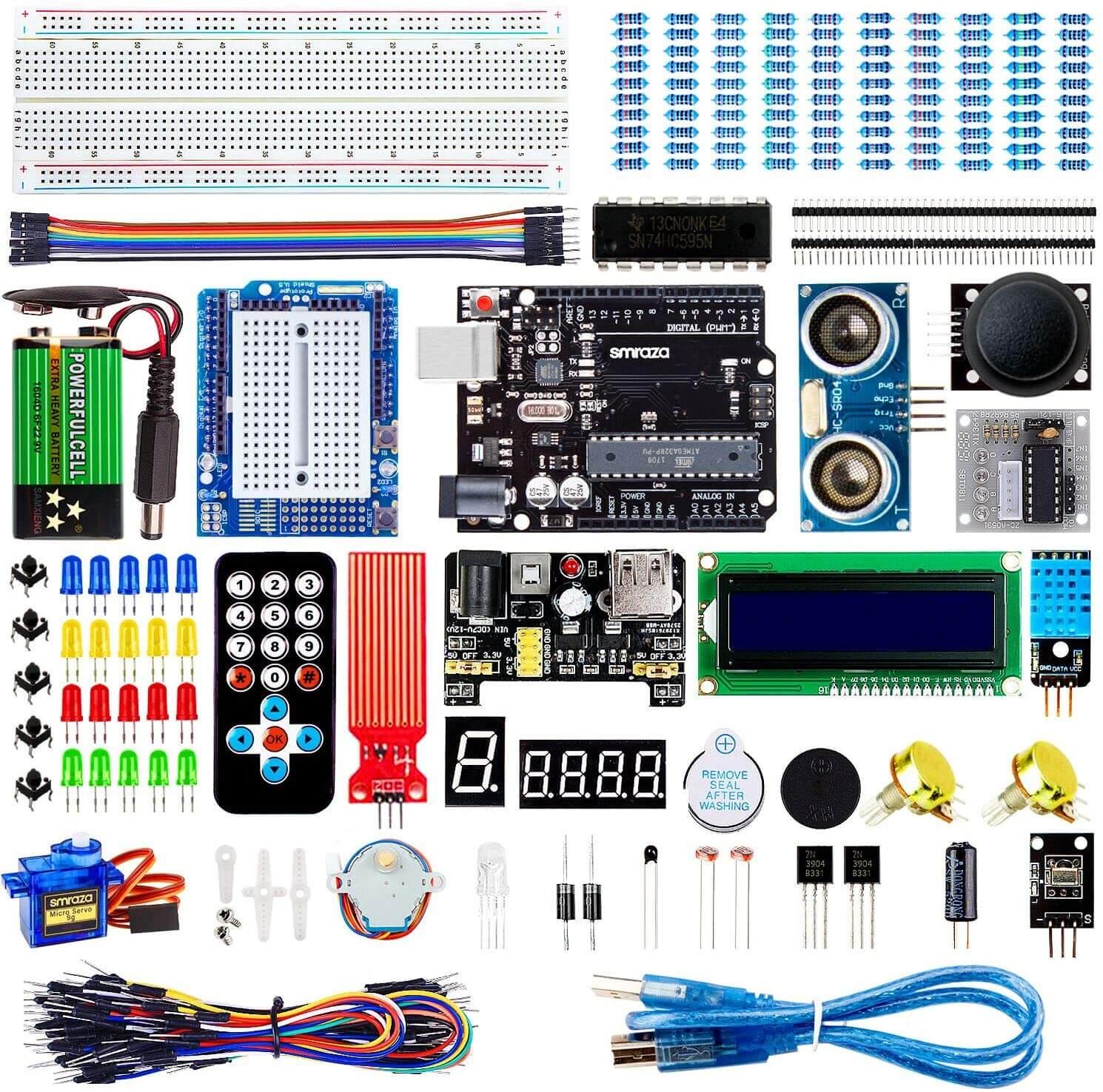 ELEGOO UNO R3 Starter Kit kompatibel mit Arduino IDE Projekt Einsteigerset