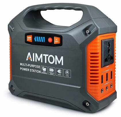 AIMTOM Portable Solar Generator