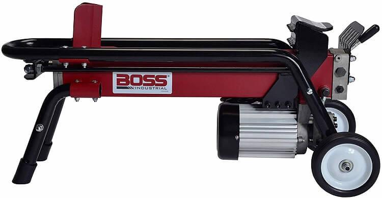 Boss Industrial Electric Log Splitter