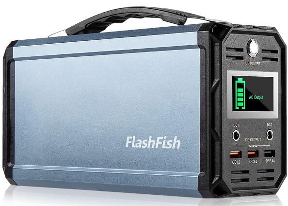 flashfish 300wportable generator