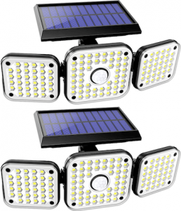 Cshidoworld solar flood lights