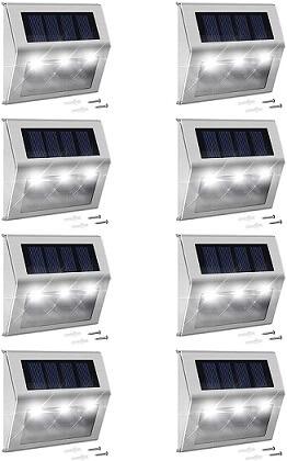 Jackyled Solar Deck Lights