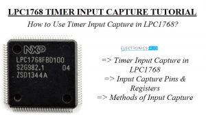 Timer Input Capture in LPC1768 Image