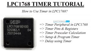 Timer in LPC1768 Featured Image