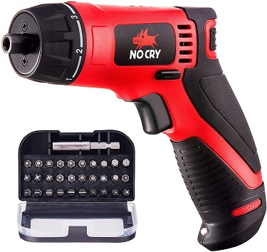 nocry screw driver