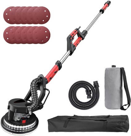 Vacuum Sander Cleaners Dust Free Tools Attachments Sheet Rock Plaster Dry