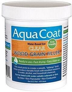 Aqua Coat wood filler