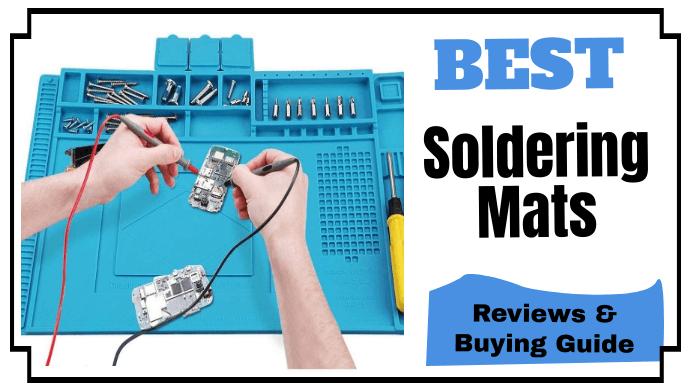 Repair Mat Heat Resistant 932° Soldering Silicone Work For Repairing Electronics