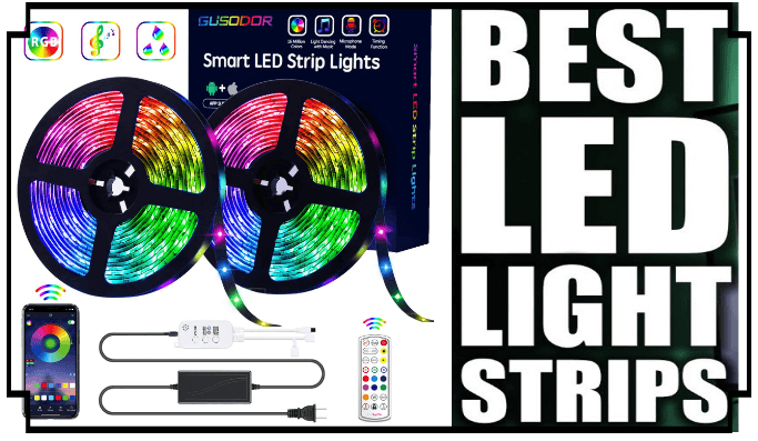The 13 Best LED Strip Lights in 2020: Reviews & Buying Guide 1