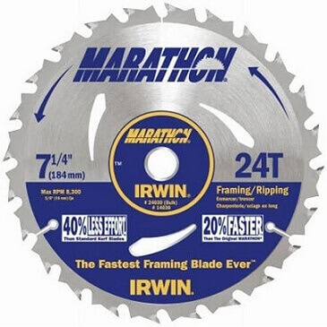 Irwin Tools Circular Saw Blade