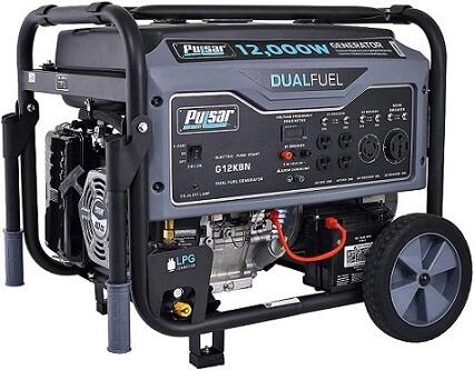 Pulsar Dual Fuel Portable Generator