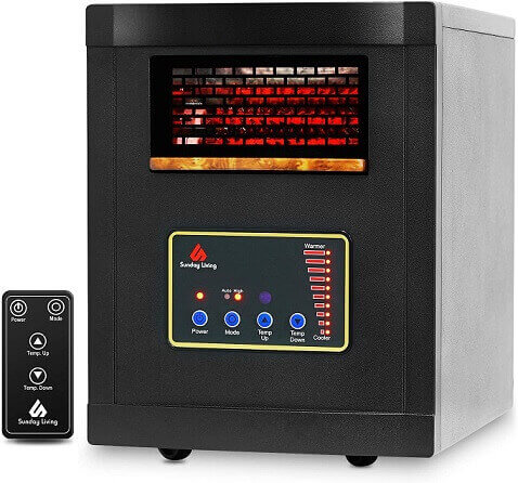 Sunday Living Portable Infrared Heater
