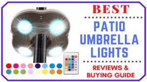 Best Patio Umbrella Lights