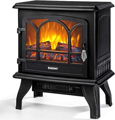 Euhomy Electric Fireplace Stove
