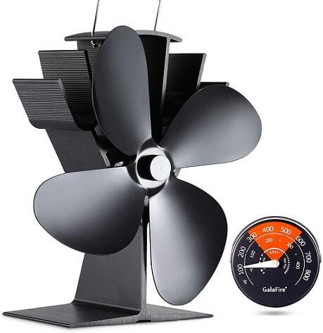 Galafire Wood Stove Fan