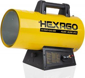 Hexago propane heater