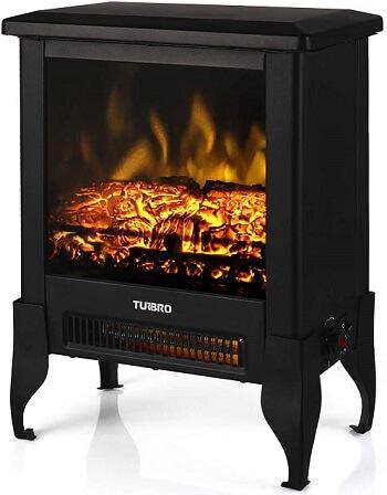 Turbro Compact Electric Fireplace Stove