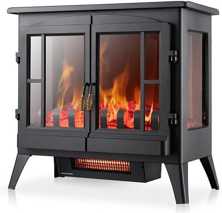 Xbeauty Electric Fireplace Stove