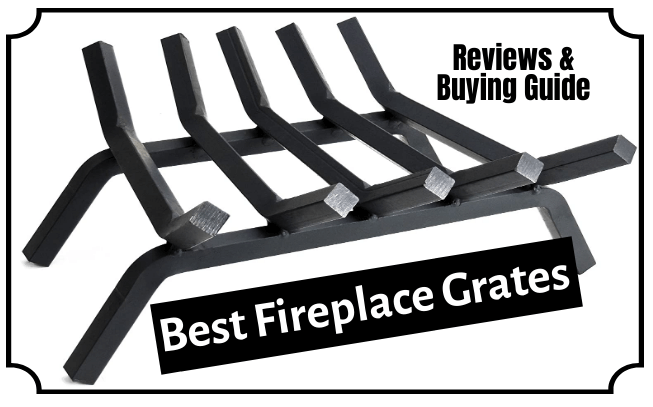 The 7 Best Fireplace Grates Reviews And, What Is The Best Material For A Fireplace Grate