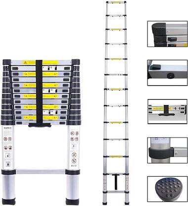 Archom Extension Telescoping Ladder