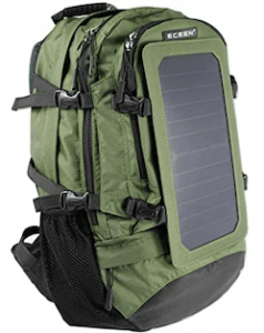 Eceen solar backpack