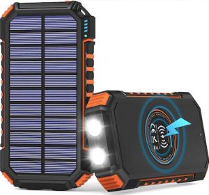 Hiluckey solar power bank