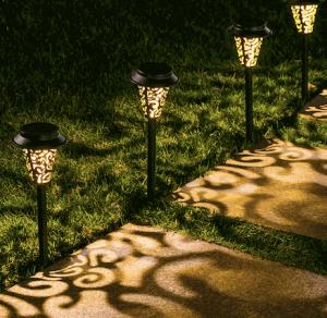 LeiDrail Solar Pathway Lights