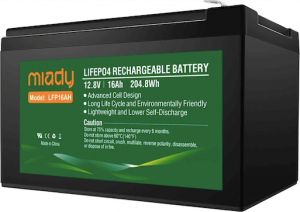 Miady's deep cycle battery
