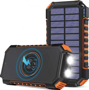 Rainpow solar power bank