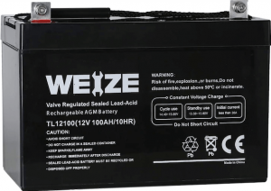 Weize 12V 100AH Deep Cycle
