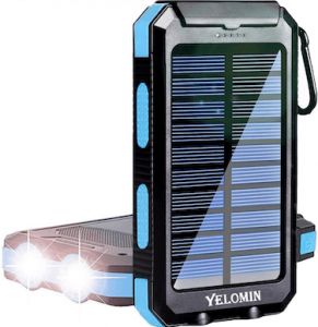 Yelomin solar power bank