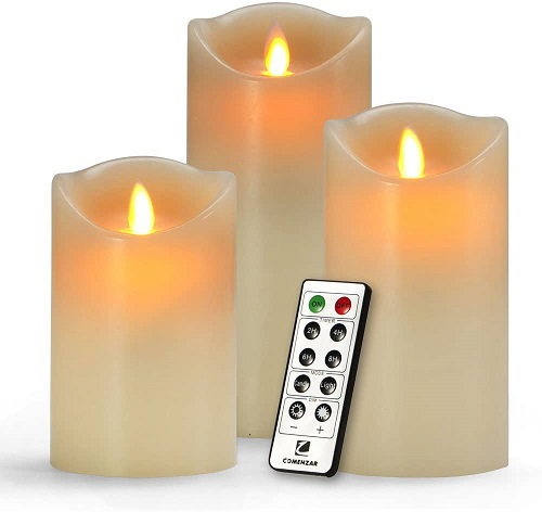 Comenzar Flameless Candles Set