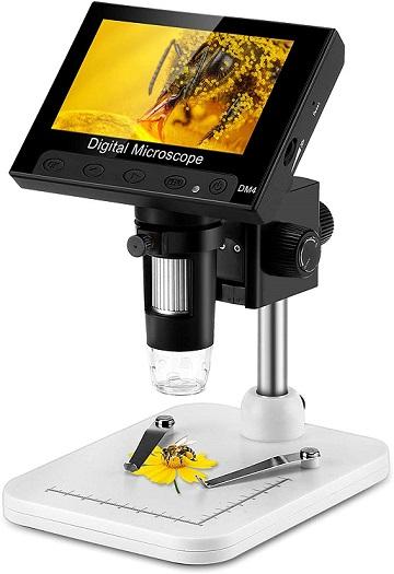 Elikliv LCD Digital USB Microscope