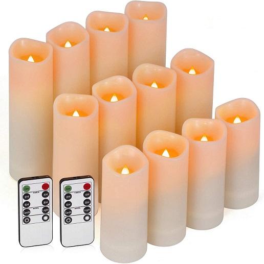 Enido Flameless Candles