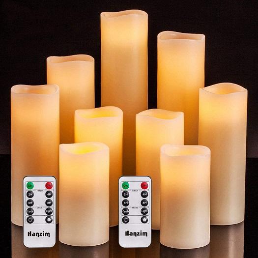 HANZIM Flameless Candles