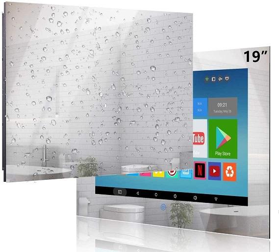 Haocrown Small Bathroom Mirror TV