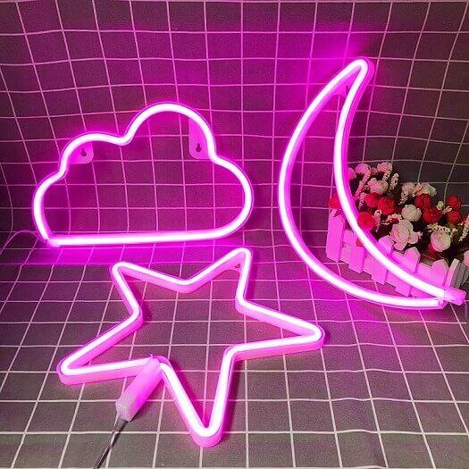 IMTTST&R Pink Neon Signs