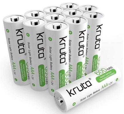 Kruta Solar Light Batteries