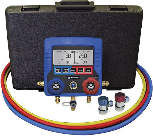 MASTERCOOL Digital Manifold Gauge