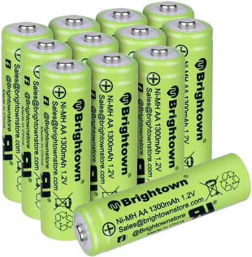 NiMH Rechargeable AA Battery