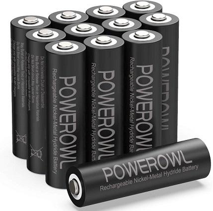 POWEROWL Rechargeable AA Batteries