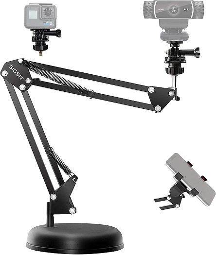 SIGSIT Desktop Webcam Stand