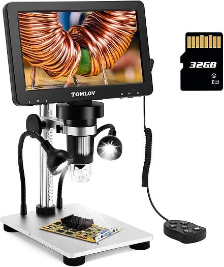 TOMLOV LCD Digital Microscope