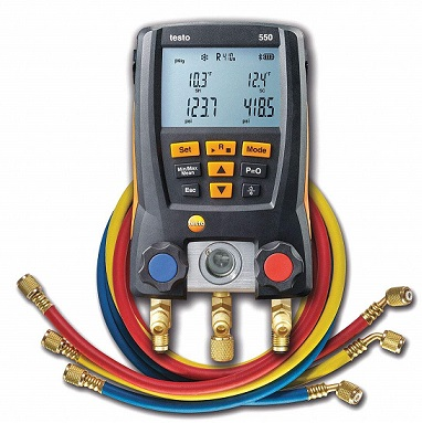 Testo Digital Manifold Kit