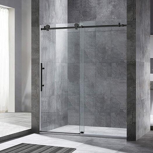 WOODBRIDGE Frameless Sliding Glass Door