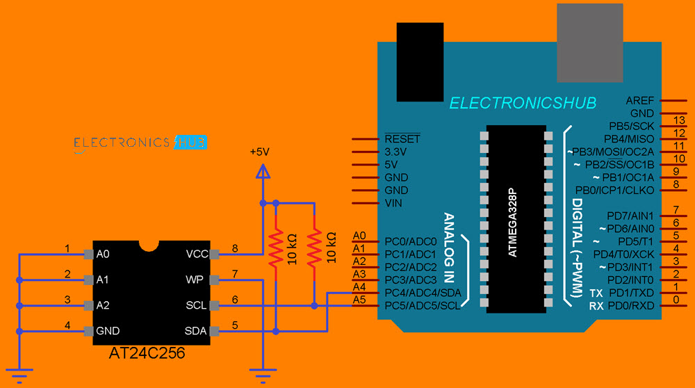 Arduino-AT24C256-EEPROM-Circuit-Diagram
