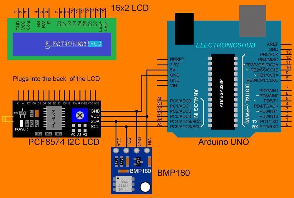BMP180-Arduino-Interface-Circuit-Diagram