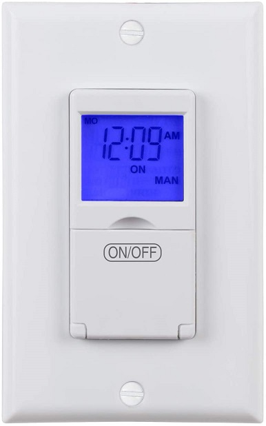 BN-LINK Programmable In-Wall Timer Switch