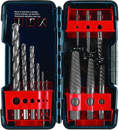 Bosch Screw Extractor Set