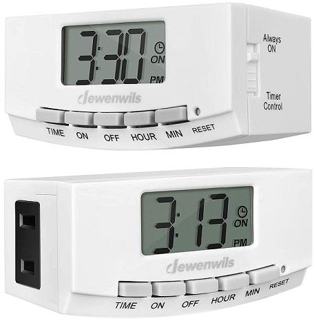 DEWENWILS Programmable Light Timer Switch